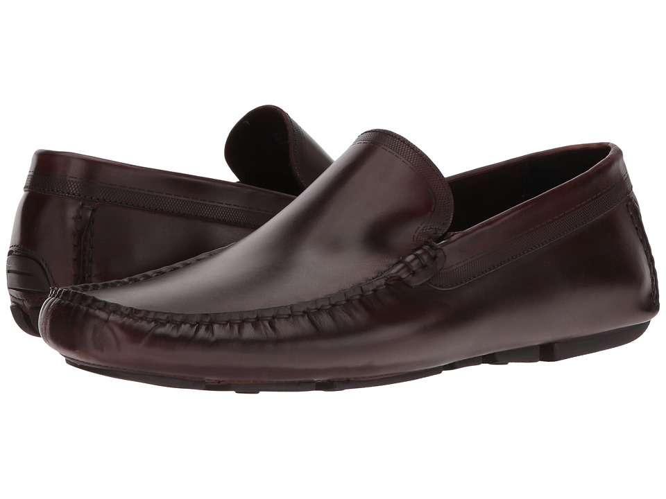 Kenneth Cole New York - Under-Cover (Brown) Men's Slip on Shoes