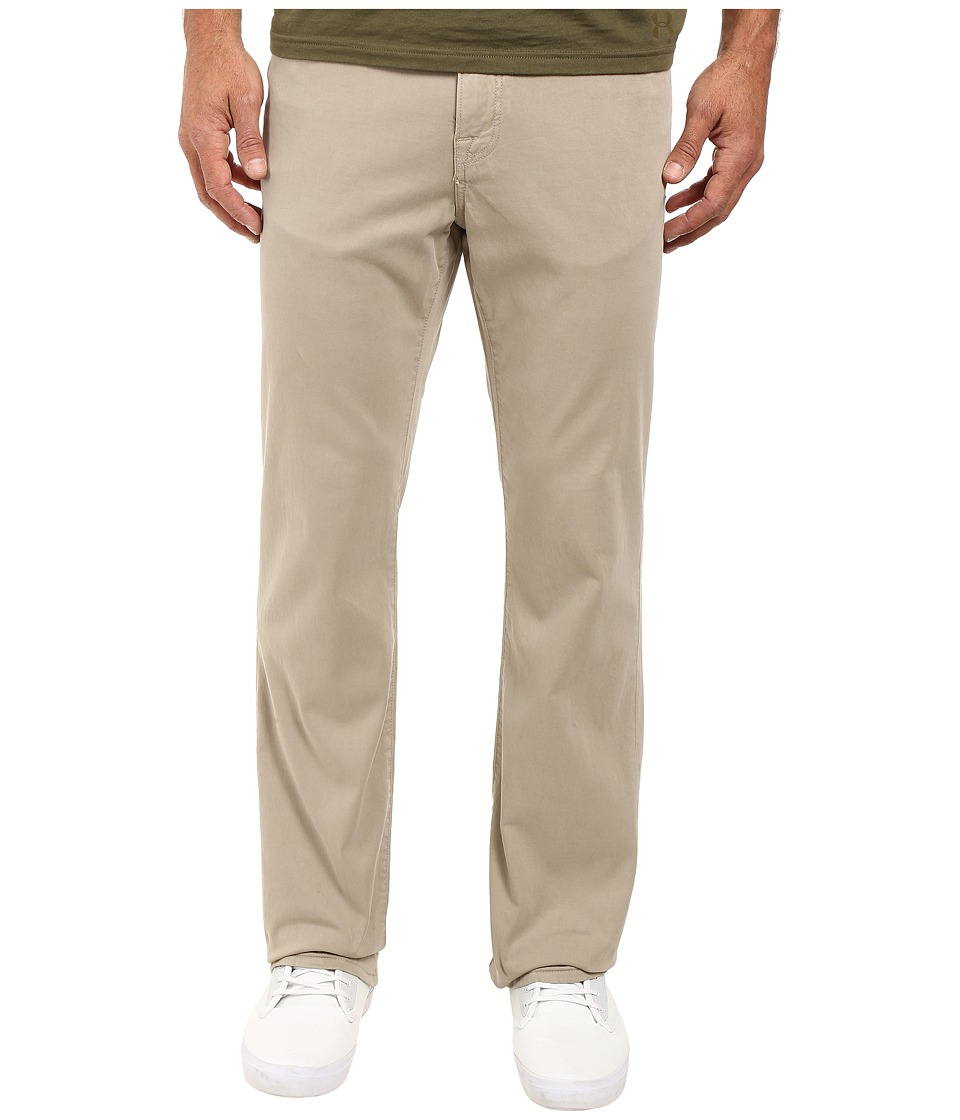 34 Heritage - Charisma Relaxed Fit in Stone Twill (Stone Twill) Men's Casual Pants