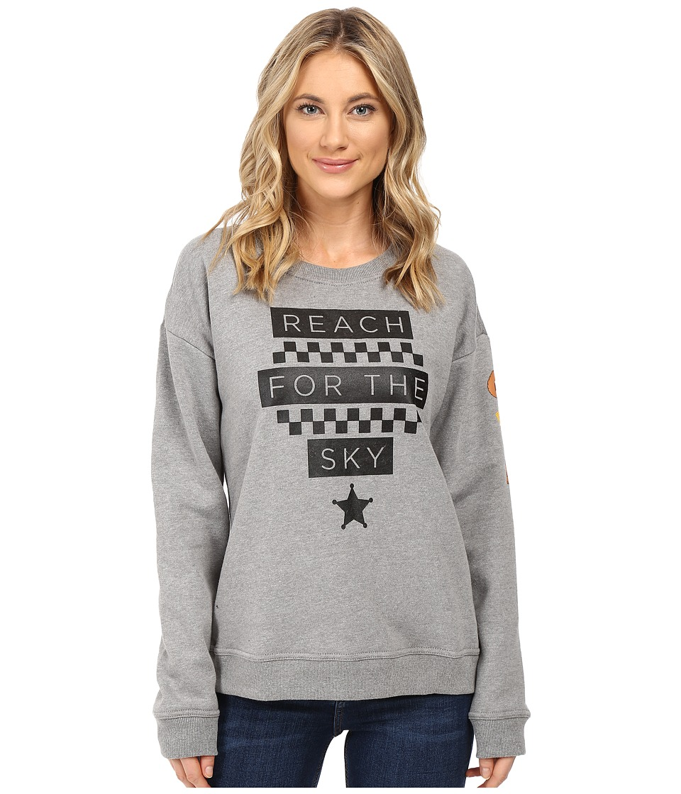 Vans - Reach For The Sky (Grey Heather) Women's Fleece