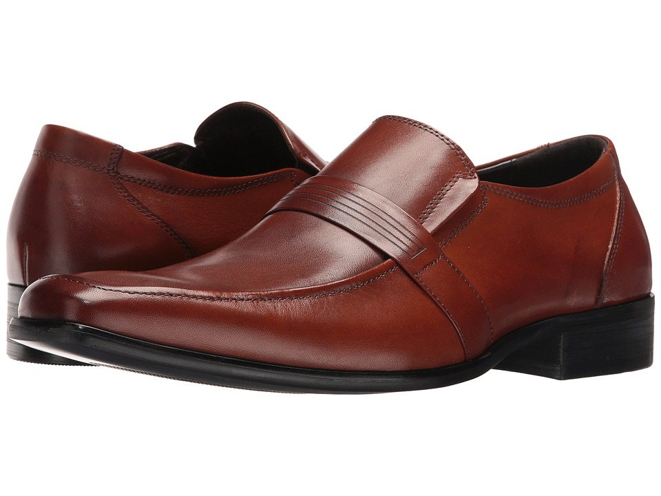 Kenneth Cole Reaction - Mill-Enial (Cognac) Men's Slip on Shoes