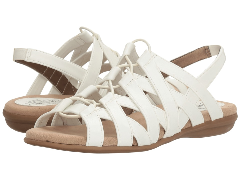 LifeStride - Behave (White) Women's Sandals