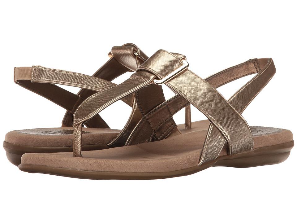 LifeStride - Brooke (Gold) Women's Sandals
