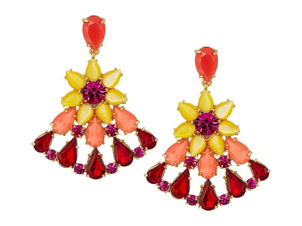 Kate Spade New York - Brilliant Bouquet Drop Earrings (Multi) Earring