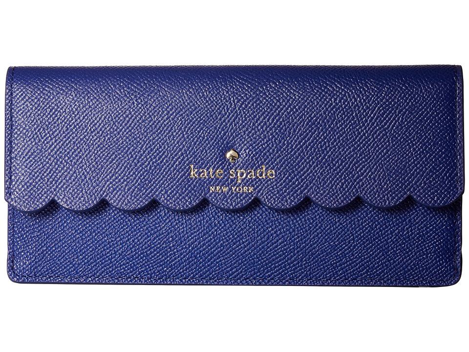 Kate Spade New York - Morris Lane Alli (Asilah Blue/Berber Pink) Wallet