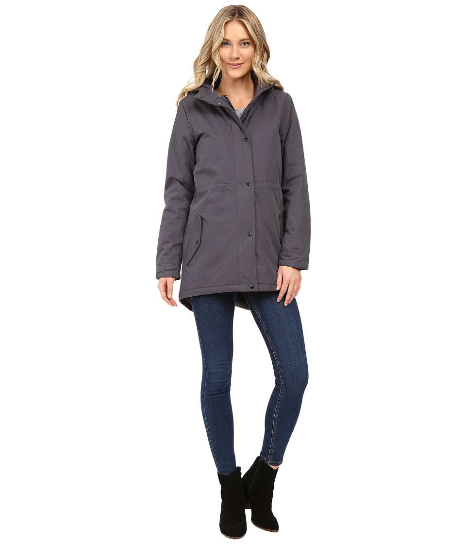 Vans - Addison Parka Mountain Edition (Asphalt) Women's Coat