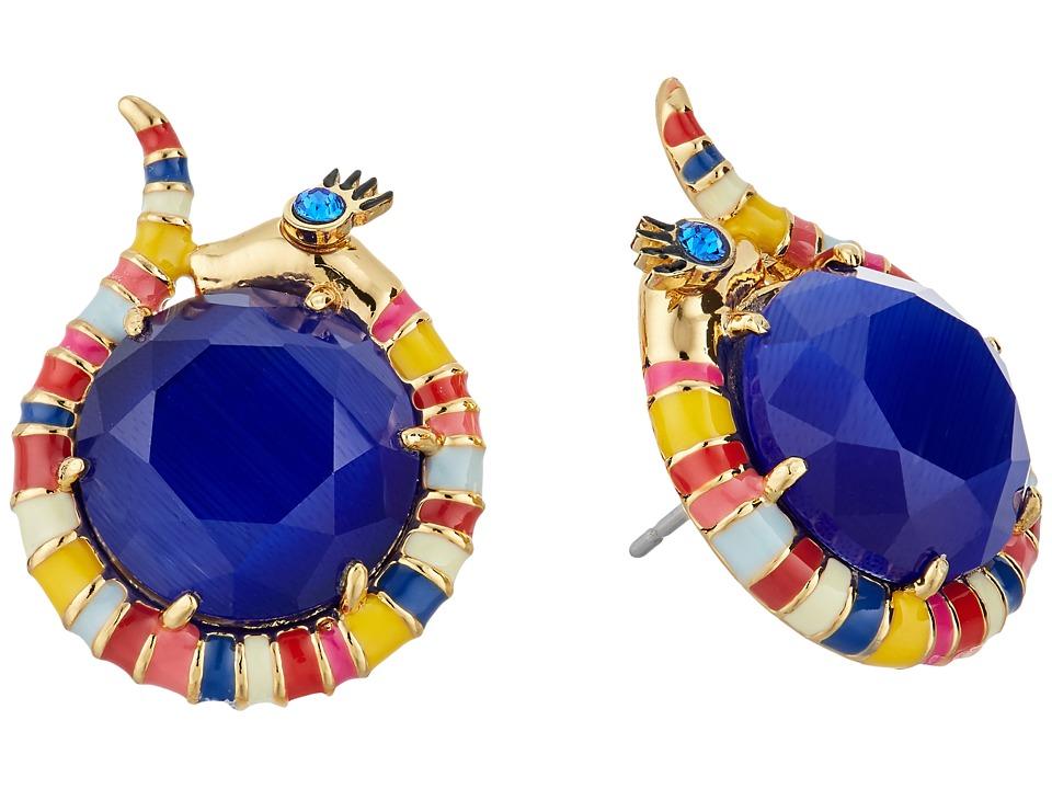 Kate Spade New York - Spice Things Up Snake Studs Earrings (Multi) Earring