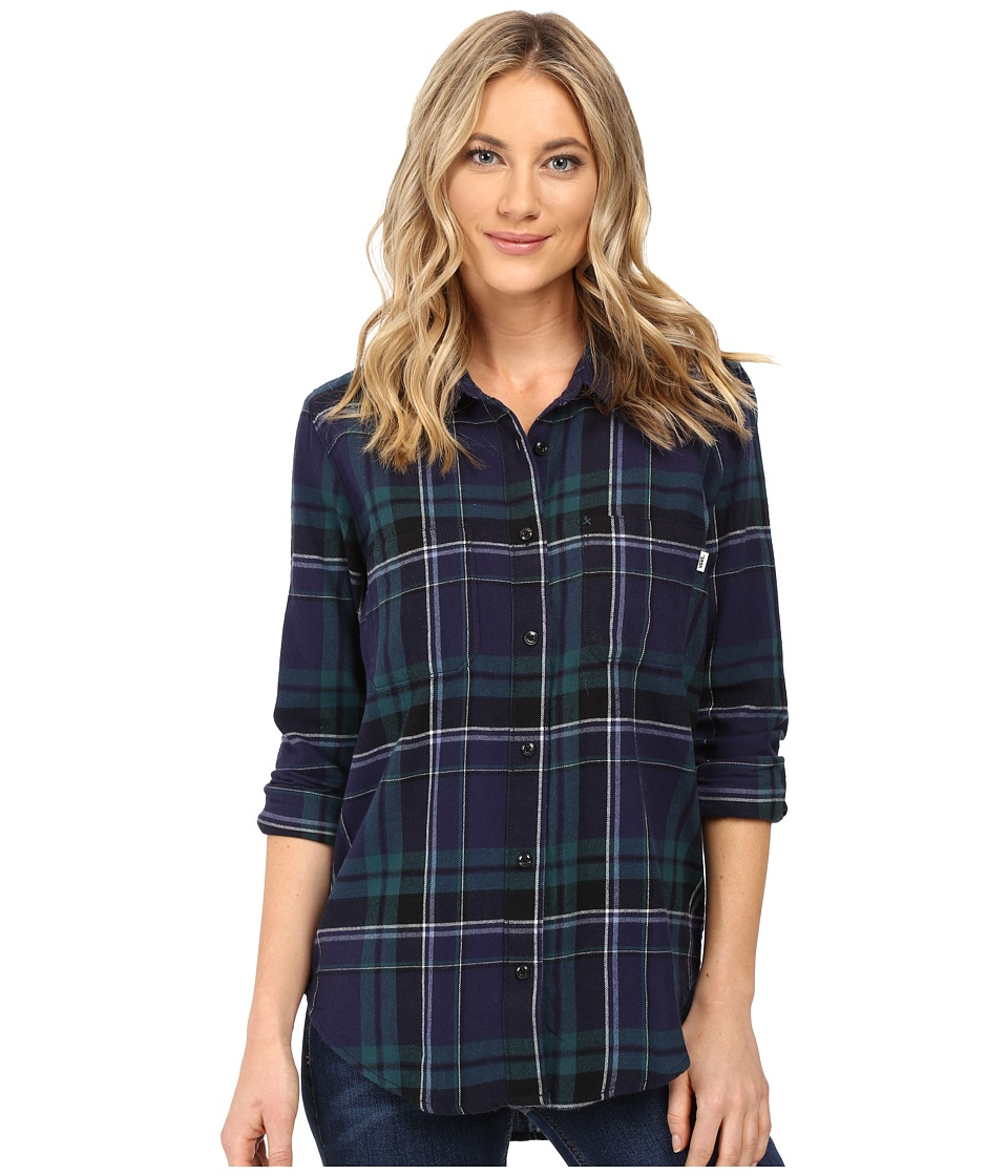 Vans - Meridian Flannel (Blue Eclipse) Women's Clothing