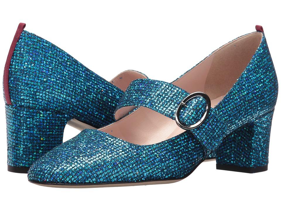 SJP by Sarah Jessica Parker - Tartt (Flutter Blue Scintillate) High Heels