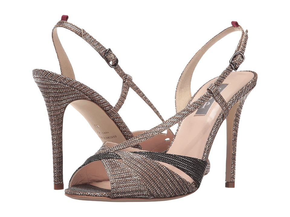 SJP by Sarah Jessica Parker - Exultant (Tout Gold Metallic Glitter) Women's Shoes