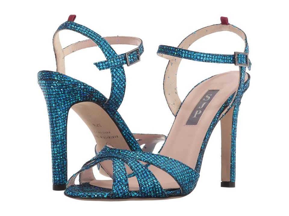SJP by Sarah Jessica Parker - Westminster (Flutter Blue Scintillate) Women's Shoes