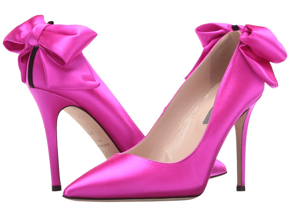 SJP by Sarah Jessica Parker - Lucille (Candy Satin) Women's Shoes
