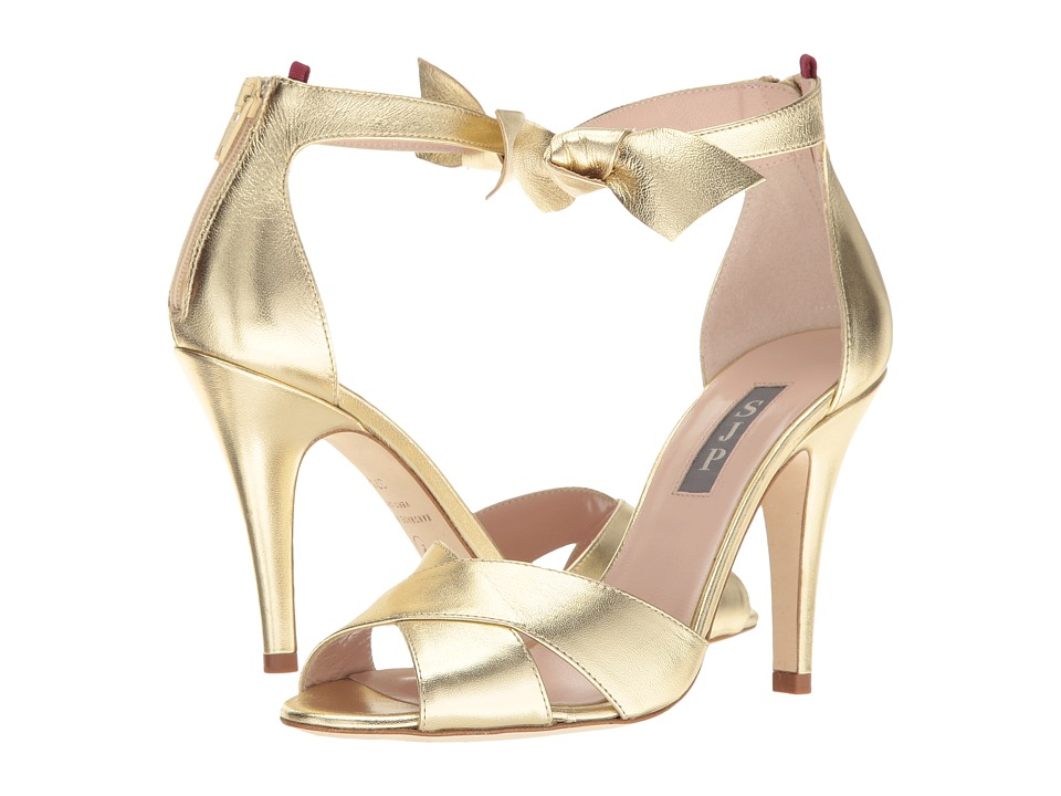 SJP by Sarah Jessica Parker Buckingham (Platino Gold Leather) Women