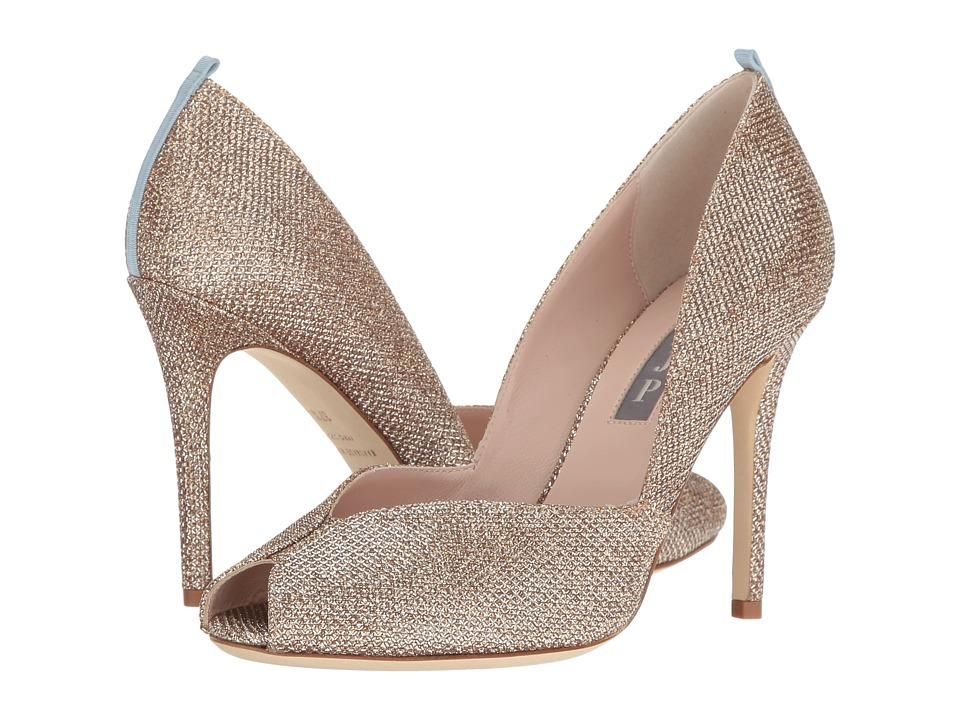 SJP by Sarah Jessica Parker - Naomi (Quartz Metallic Luminor) Women's Toe Open Shoes