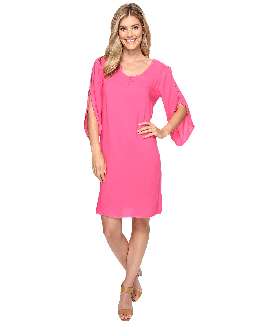 Fresh Produce - Escape Dress (Papaya Fruit Pink) Women's Dress