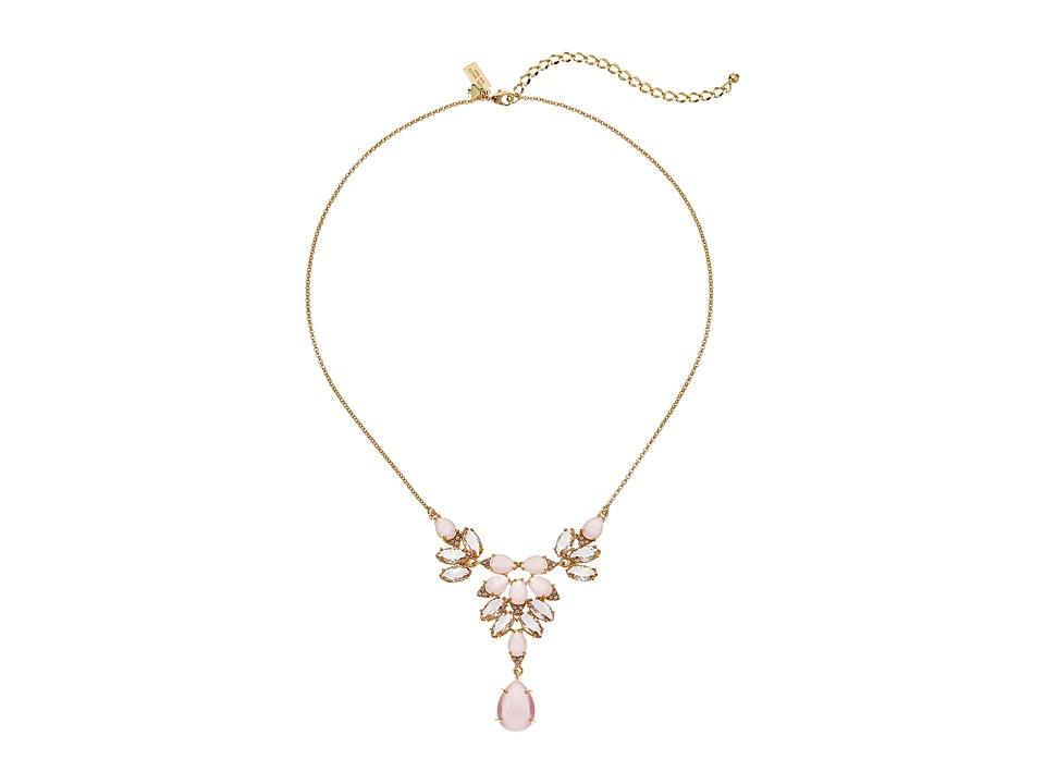 Kate Spade New York - Blushing Blooms Mini Necklace (Pink Multi) Necklace
