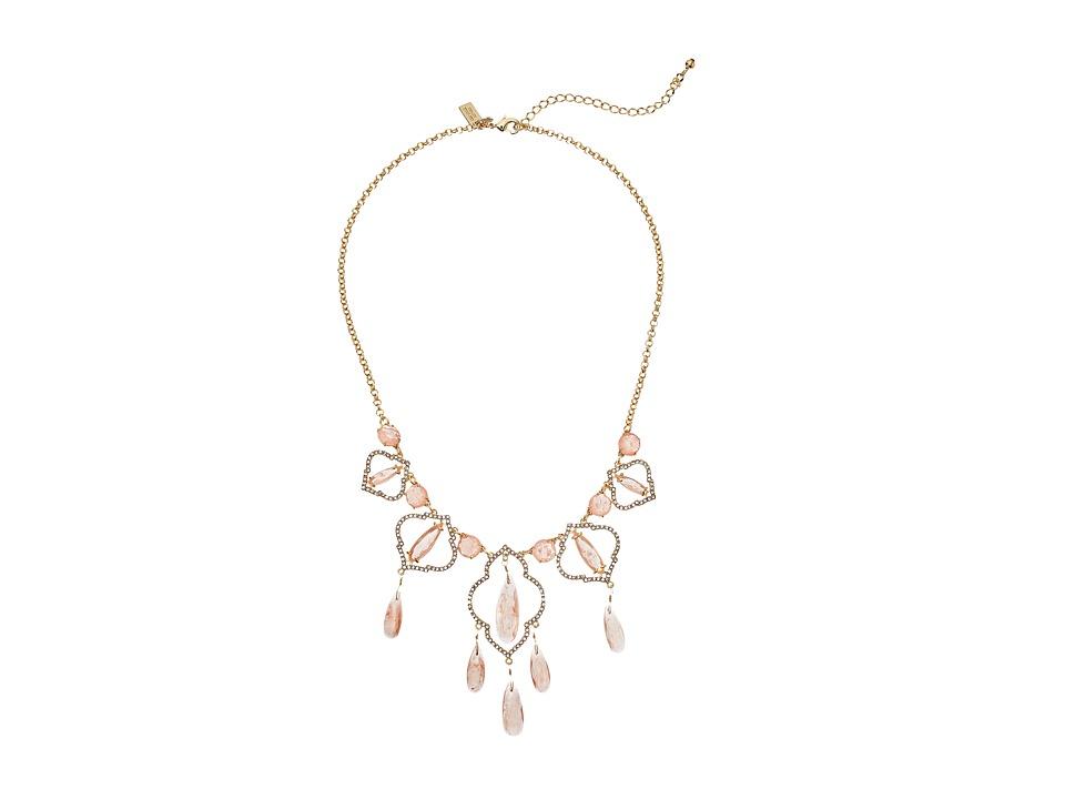 Kate Spade New York - Lantern Gems Necklace (Cherry Quartz) Necklace