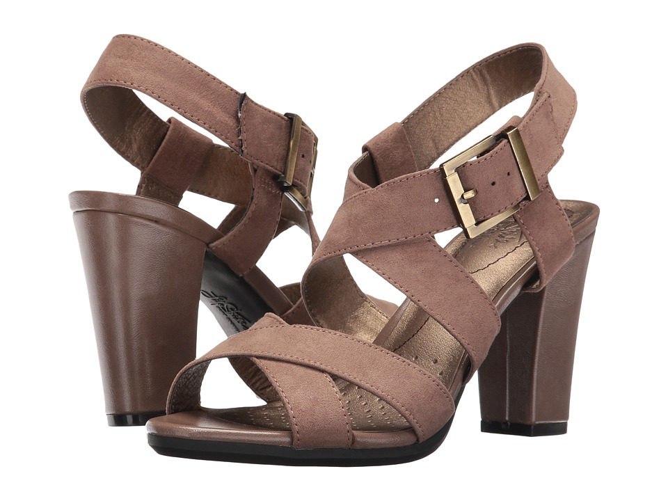 LifeStride - Nicely (Mushroom) Women's Sandals
