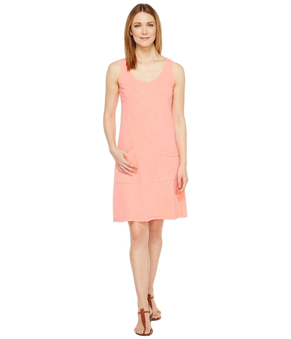 Fresh Produce Drape Dress (Sunset Coral) Women