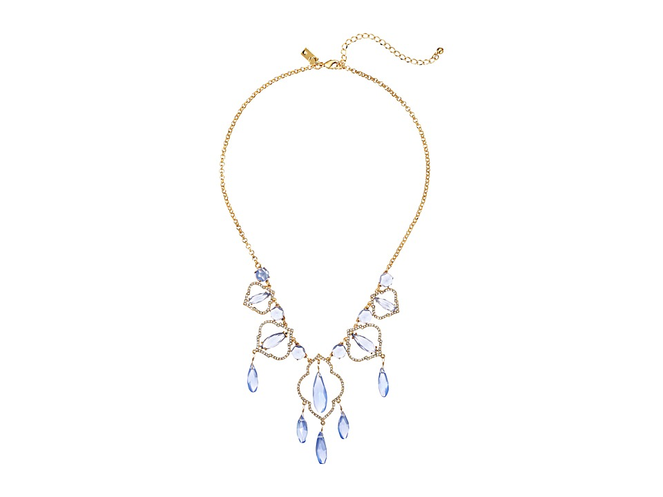 Kate Spade New York - Lantern Gems Necklace (Blue) Necklace