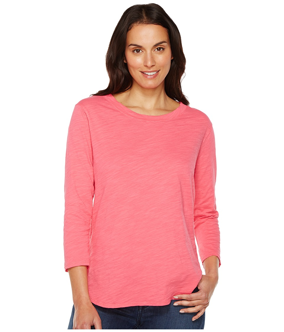 Fresh Produce - Catalina Shirt (Papaya Fruit Pink) Women's Clothing