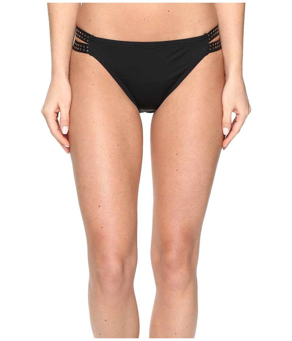 La Blanca - Nailed It Multi Strap Hipster (Black) Women's Swimwear