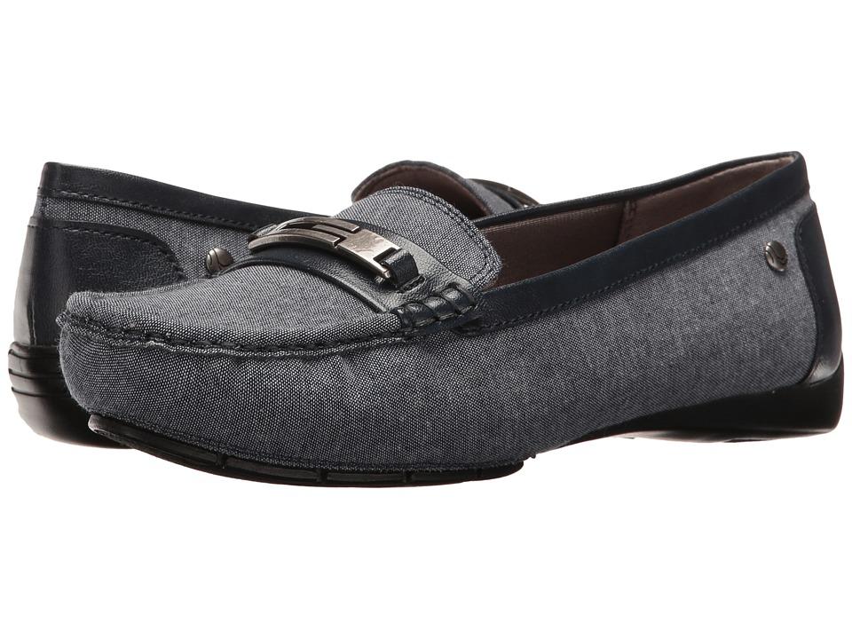 LifeStride - Viva (Denim) Women's Slip on Shoes