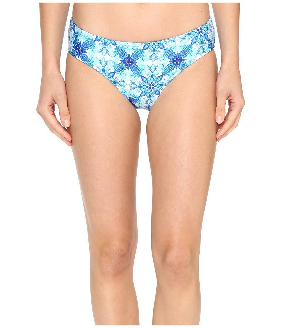 La Blanca - True Reversible Hipster Bottom (Crystal Blue) Women's Swimwear