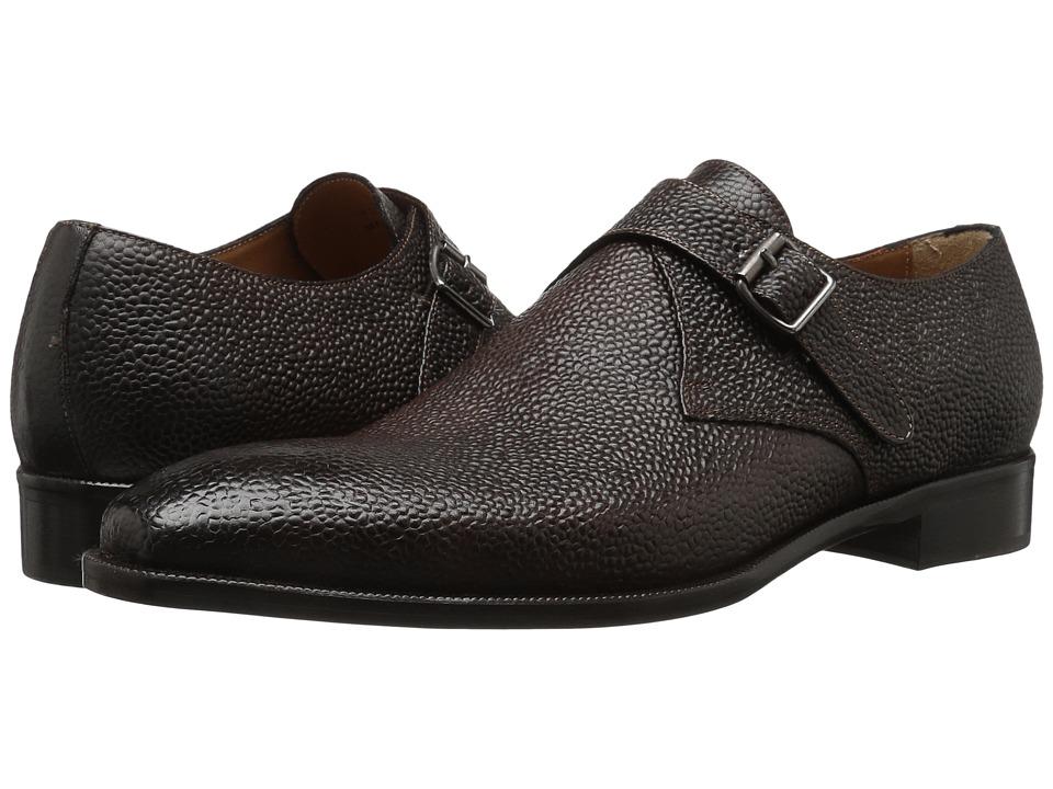 Kenneth Cole New York - Link Up (Brown) Men's Slip-on Dress Shoes