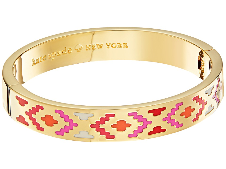 Kate Spade New York - Idiom Bangles Spice Things Up - Hinged Bracelet (Multi) Bracelet