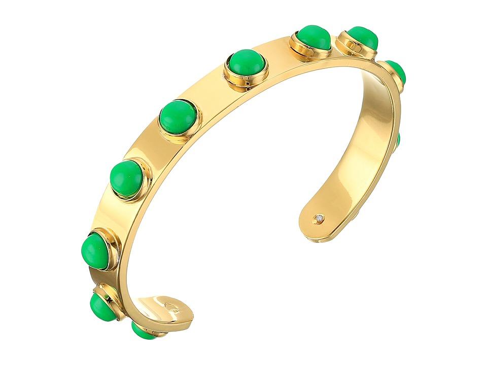 Kate Spade New York - Tag Along Cuff Bracelet (Green) Bracelet