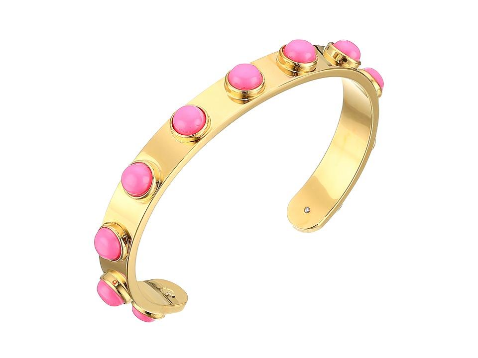 Kate Spade New York - Tag Along Cuff Bracelet (Pink) Bracelet
