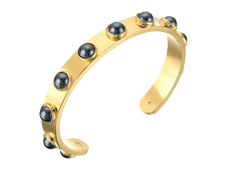 Kate Spade New York - Tag Along Cuff Bracelet (Jet) Bracelet