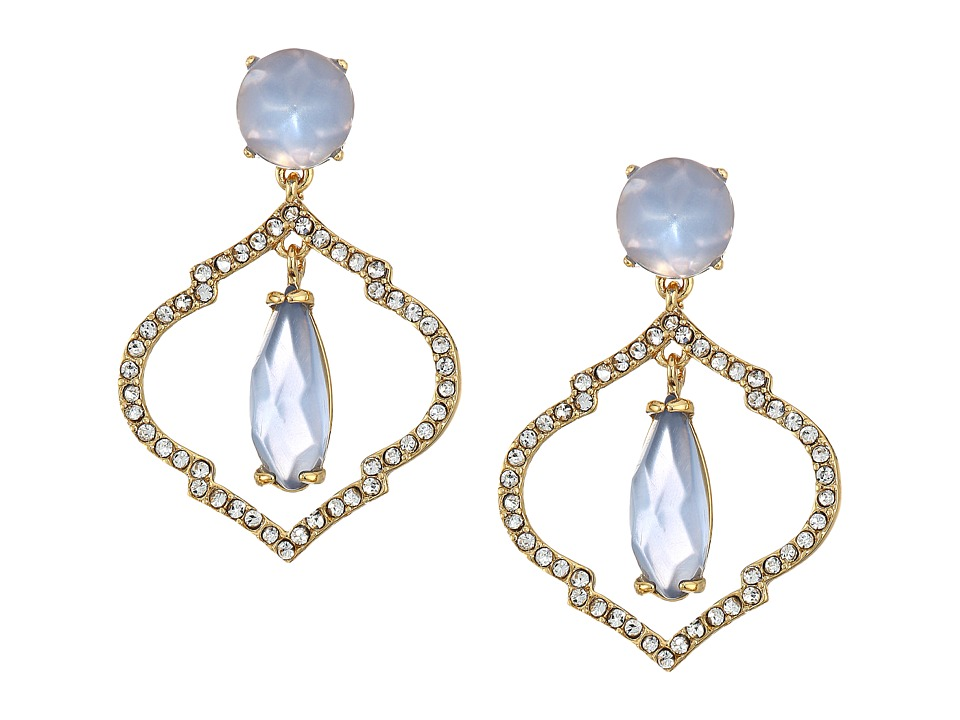 Kate Spade New York - Lantern Gems Drop Earrings (Blue) Earring