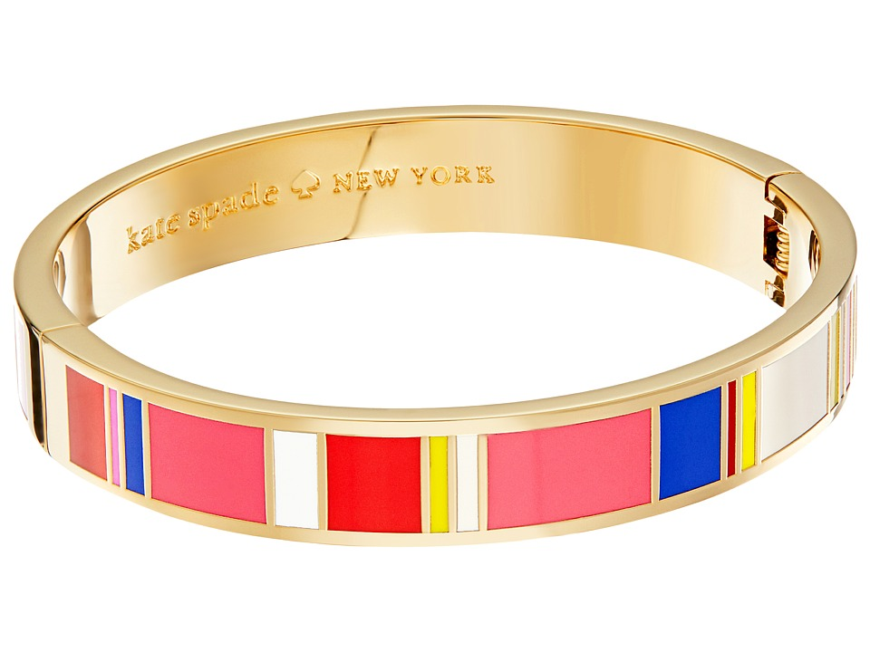 Kate Spade New York - Idiom Bangles How Charming - Hinged Bracelet (Multi) Bracelet