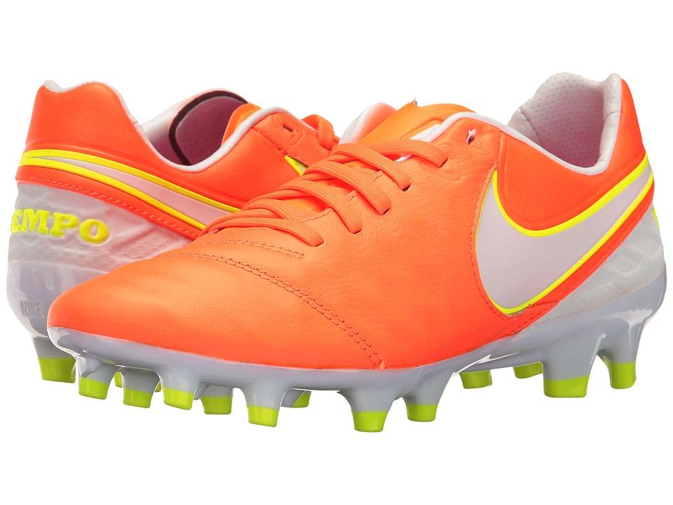 Nike - Tiempo Legacy 2 FG (Tart/White/Volt/Hyper Pink) Women's Soccer Shoes