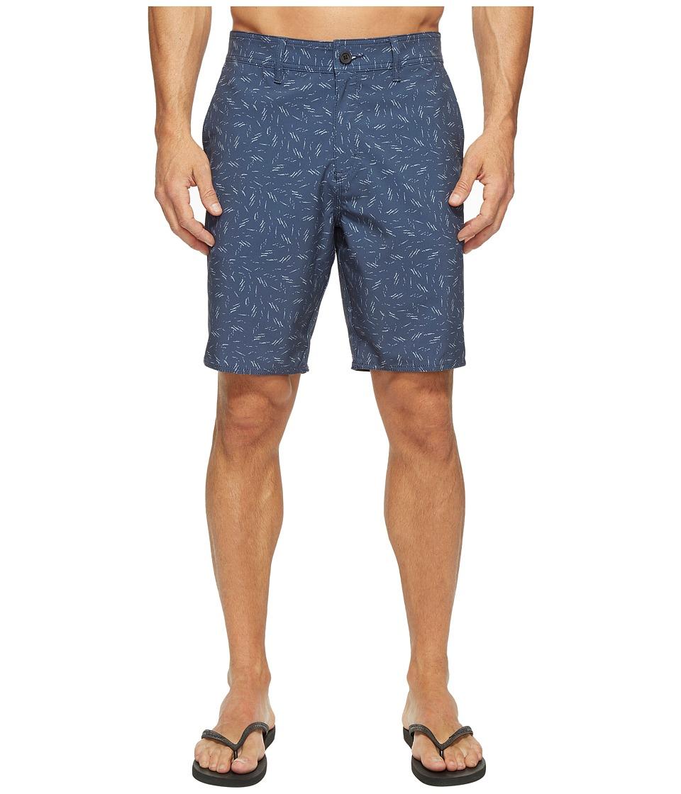 Tavik - Hawkins II Hybrid Shorts (Indigo Scatter) Men's Shorts