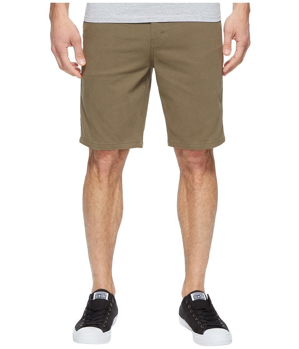 Tavik - Annex Shorts (Olive) Men's Shorts
