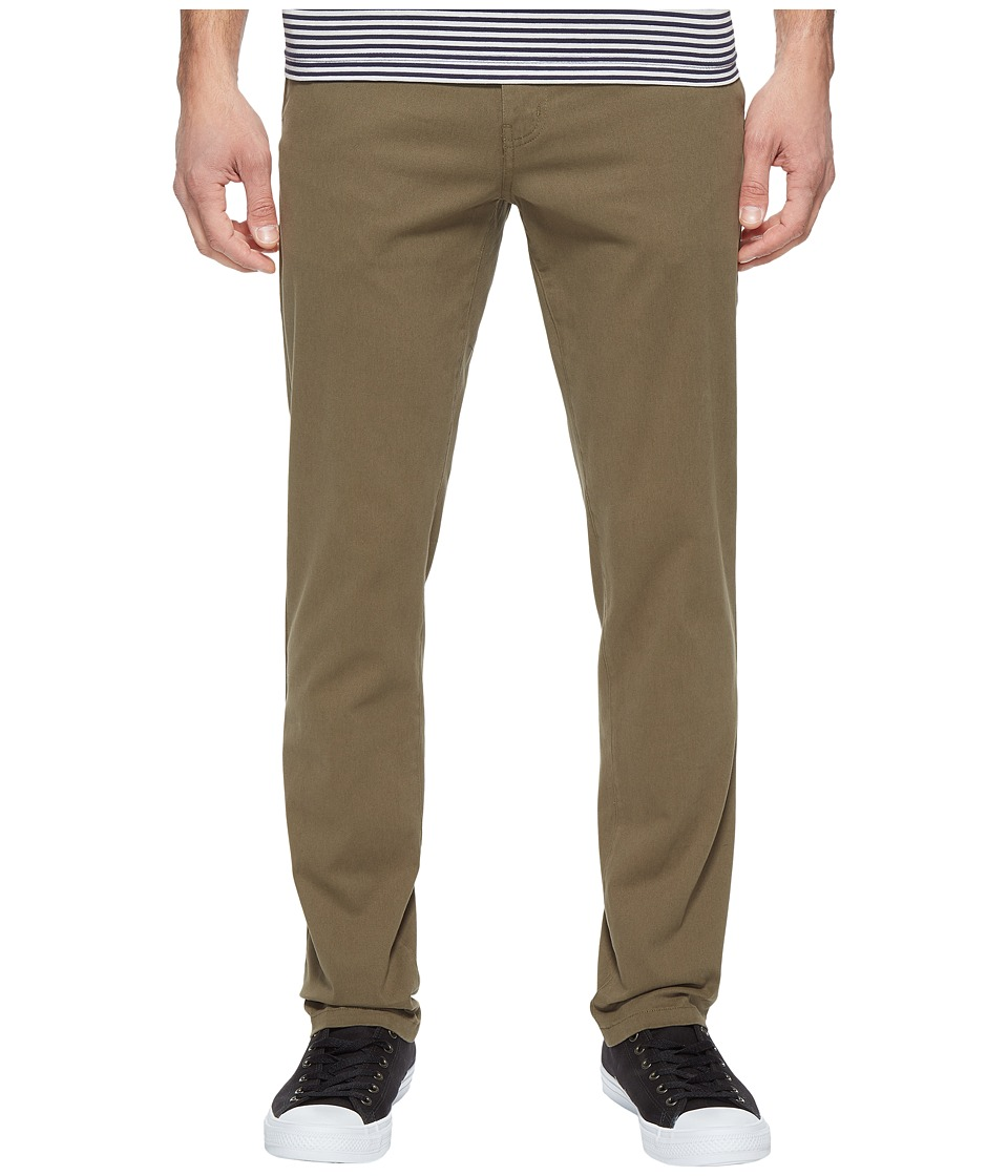 Tavik - Basin Chino Pants (Olive) Men's Casual Pants