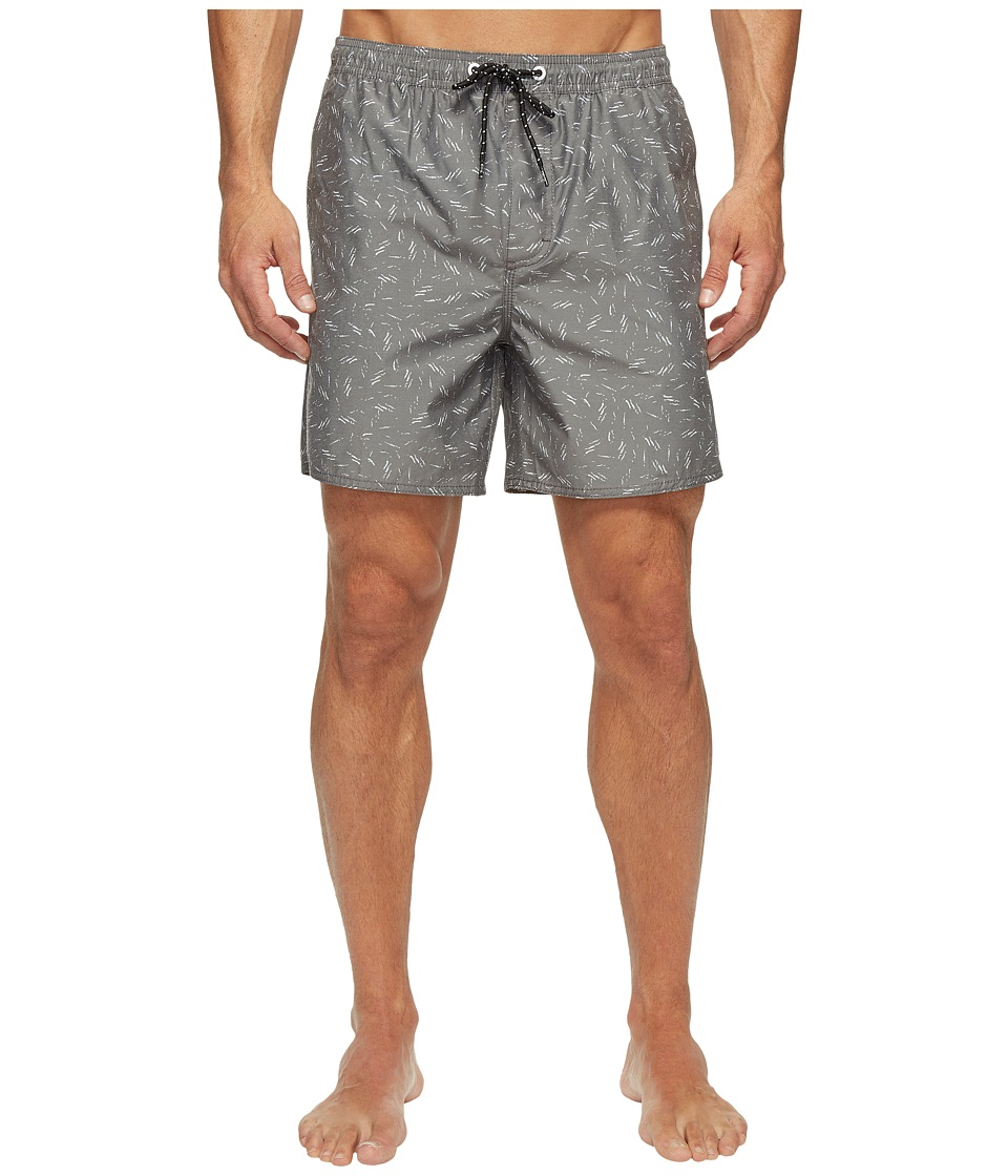 Tavik - Belmont Boardshorts (Black Scatter) Men's Swimwear