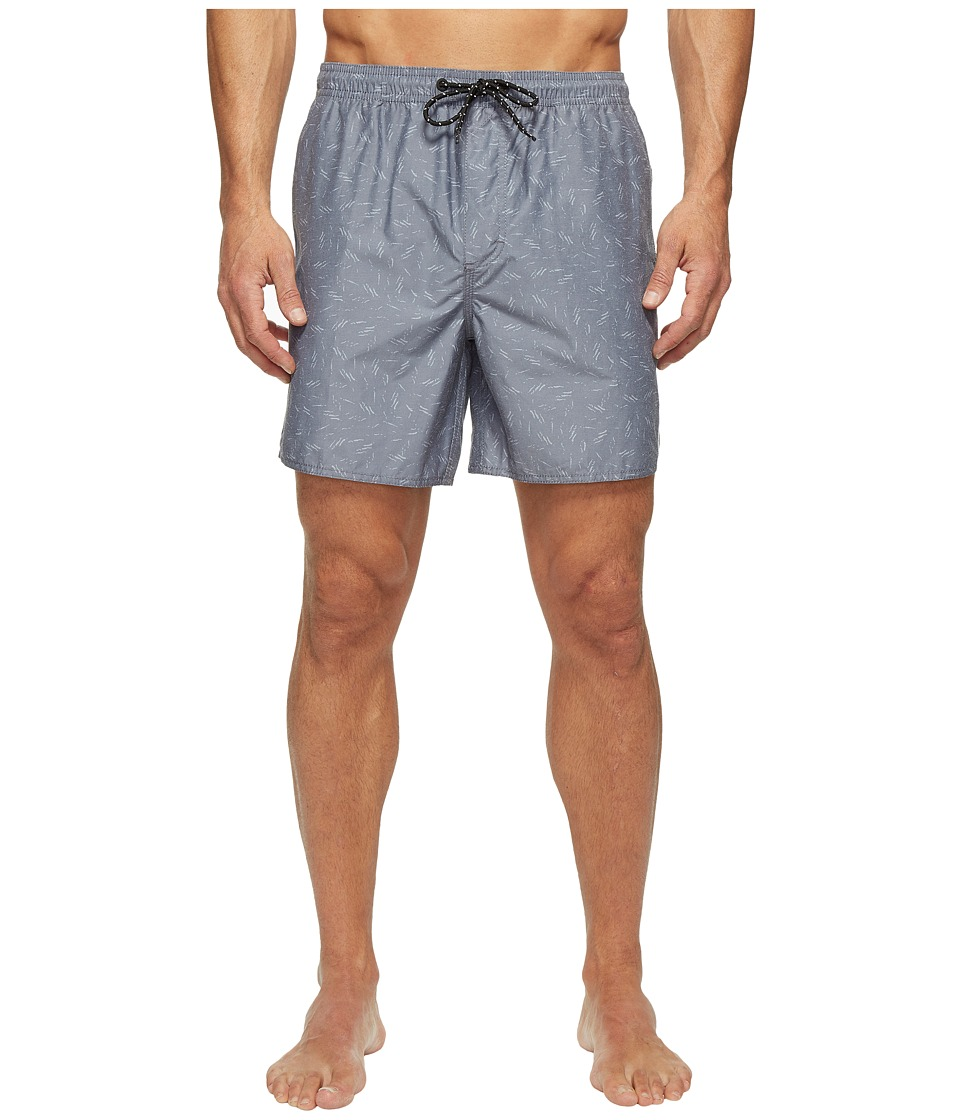 Tavik - Belmont Boardshorts (Indigo Scatter) Men's Swimwear
