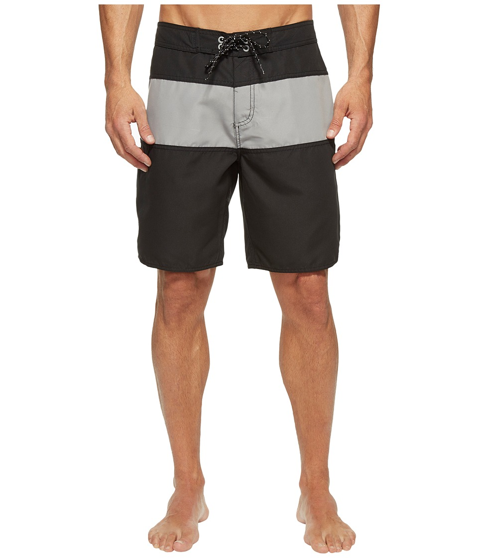 Tavik - Spectrum Boardshorts (Black/Grey) Men's Swimwear