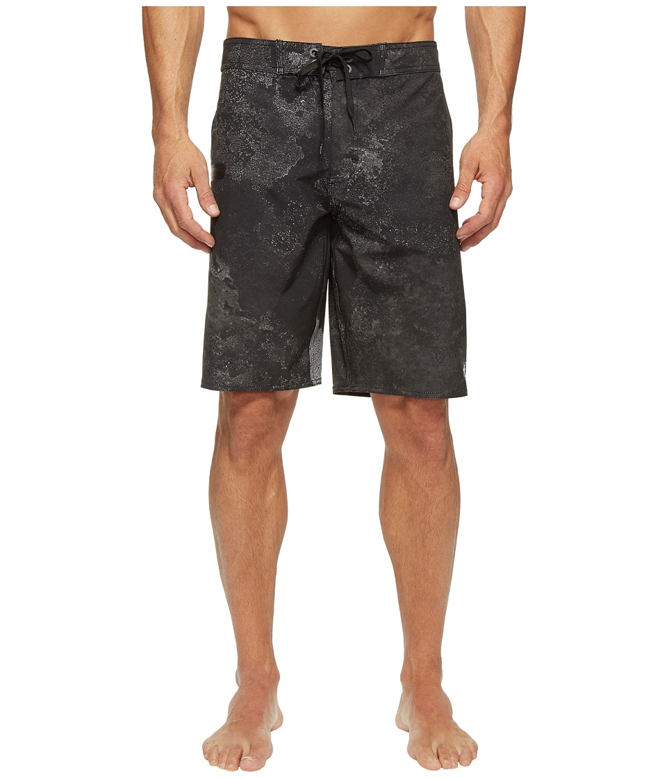 Tavik - Filter Boardshorts (Black Tide Pool) Men's Swimwear
