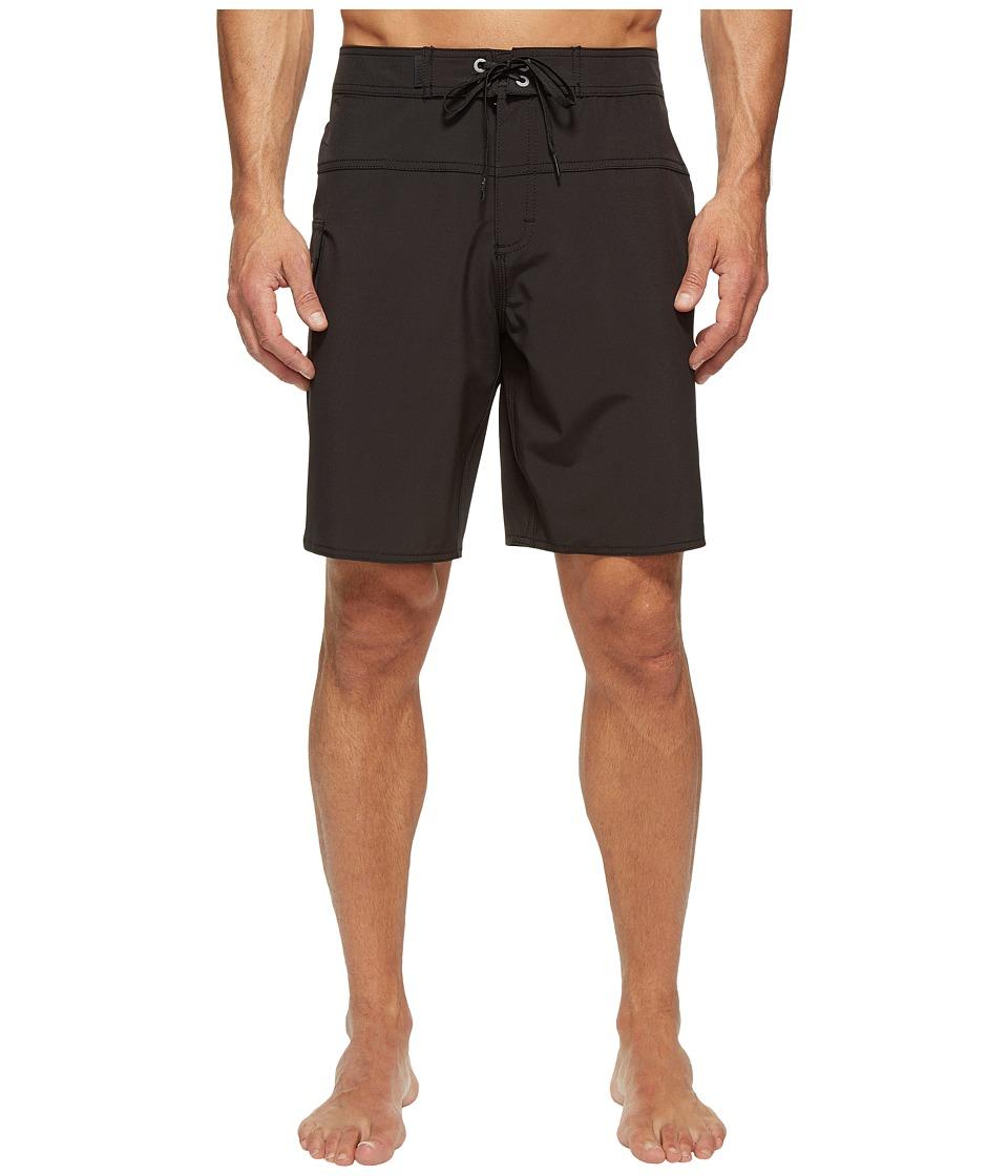 Tavik - Wexler Surf Boardshorts (Black) Men's Swimwear