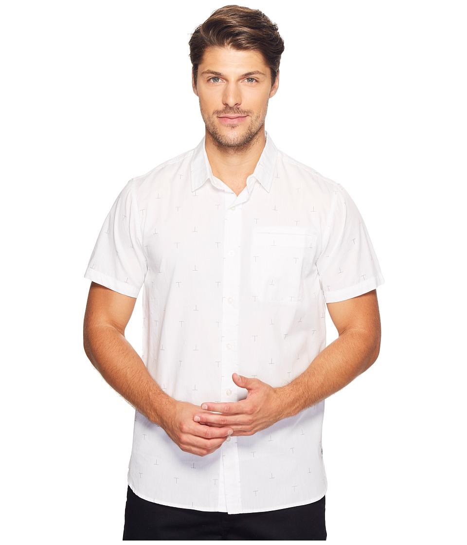 Tavik - Porter Short Sleeve (White T) Men's Short Sleeve Knit