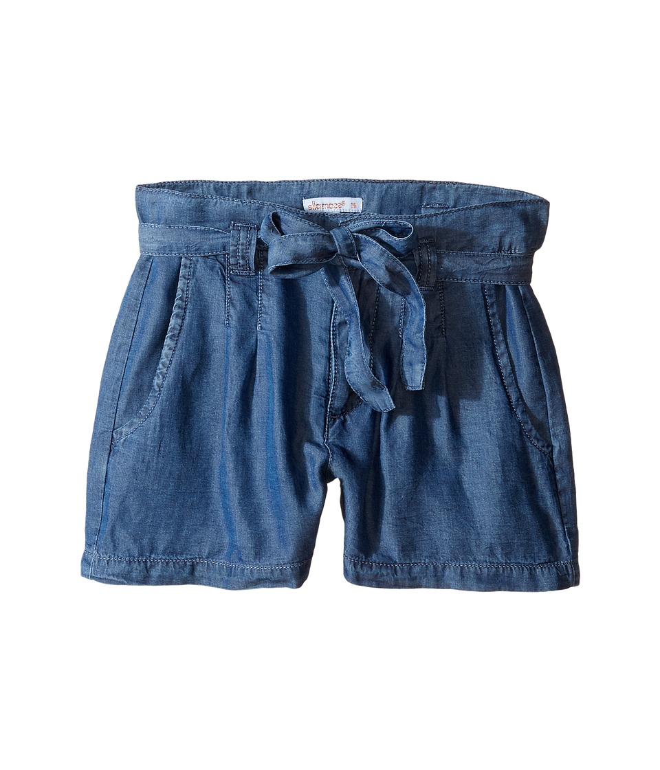 Ella Moss Girl - Sara Chambray Shorts (Big Kids) (Chambray) Girl's Shorts