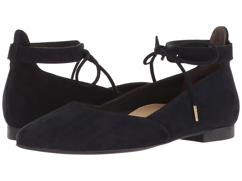 Paul Green Leanna Flat (Blue Suede) Women