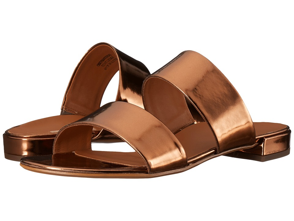 Paul Green - Monte Slip-On (Techno Metallic Bronze) Women's Slip on Shoes