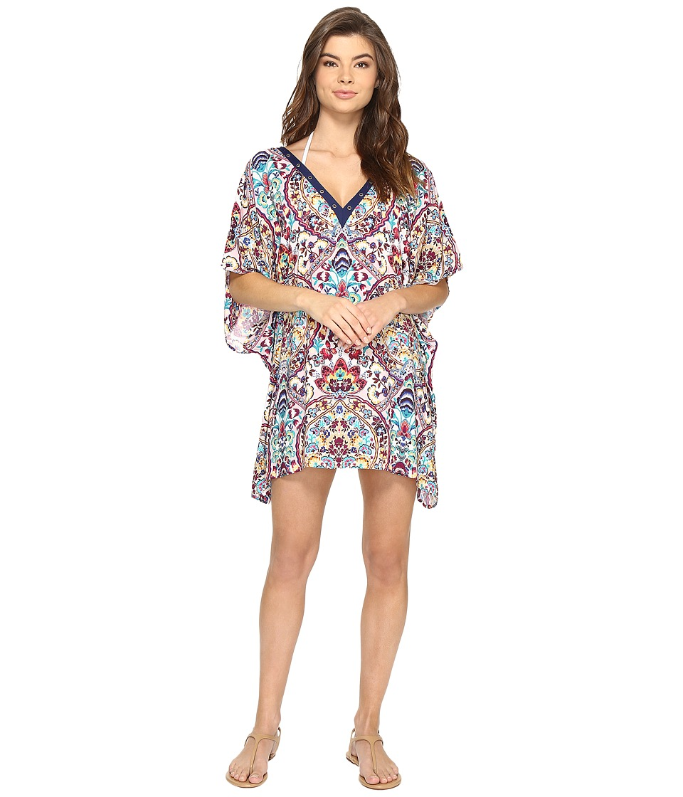 Nanette Lepore Festival Folkloric Caftan Cover-Up (Multi) Women