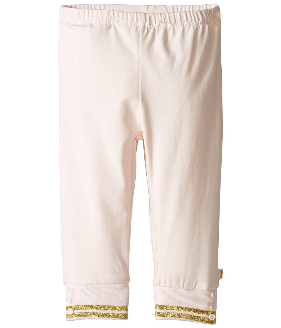 C&C California Kids - Solid Leggings (Infant) (Pink Bow) Girl's Casual Pants