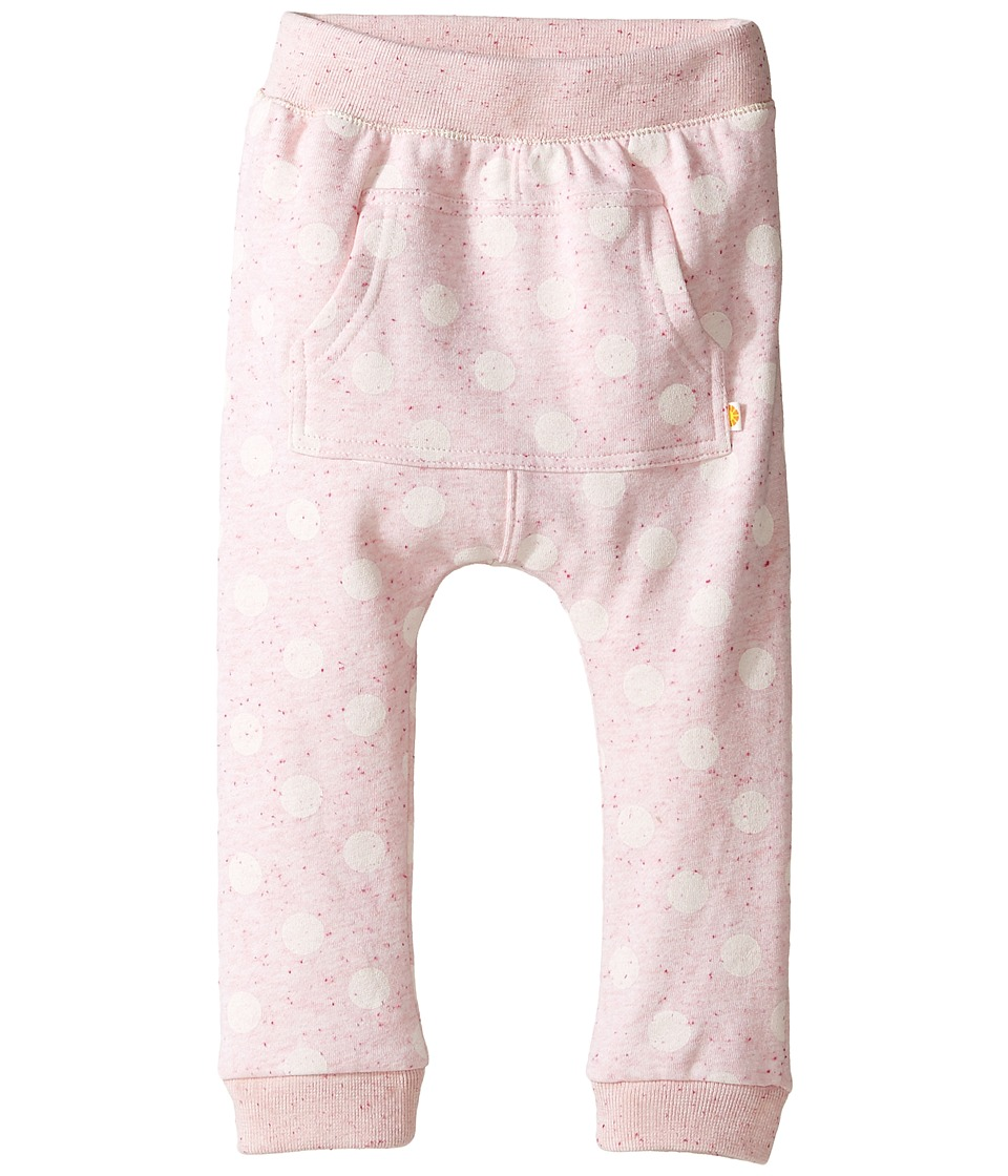 C&C California Kids - Polka Dot Pants (Infant) (Pink Bow Heather) Girl's Casual Pants
